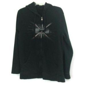 Oakley Hoodie Sweatshirt Full Zip Size Large